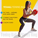 Yes4All Soft Weighted Toning Ball - 6 lb Sand