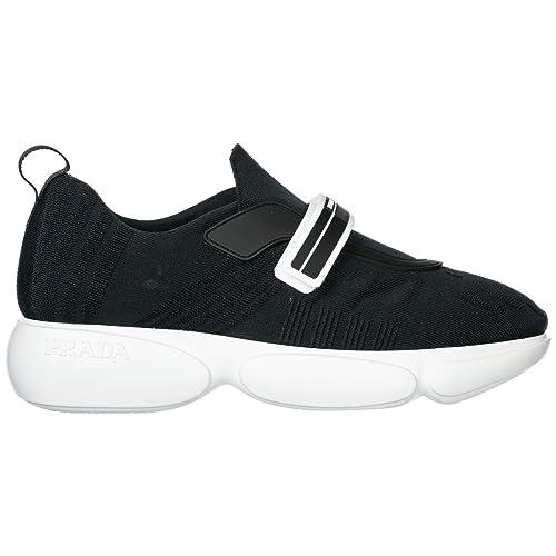 Prada Zapatos Zapatillas de Deporte Mujer Cloudbust Negro: Amazon.es: Zapatos y complementos