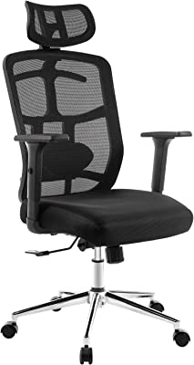Topskyfurniture Mesh Computer Office Chair
