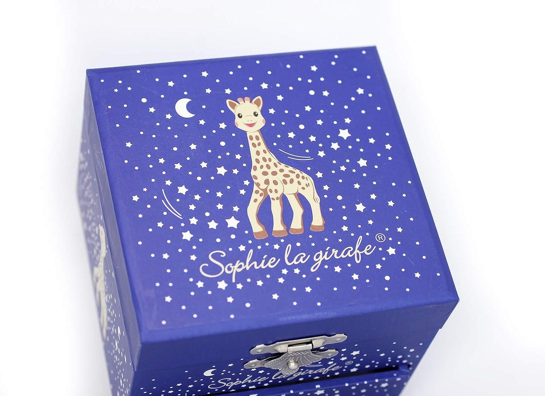 2 Figurines Amovibles Musique Feelings Colori Rose Id/éal Cadeau de Naissance Bo/îte /à Musique Dancing Sophie la Girafe TROUSSELIER Fonctionnement Simple