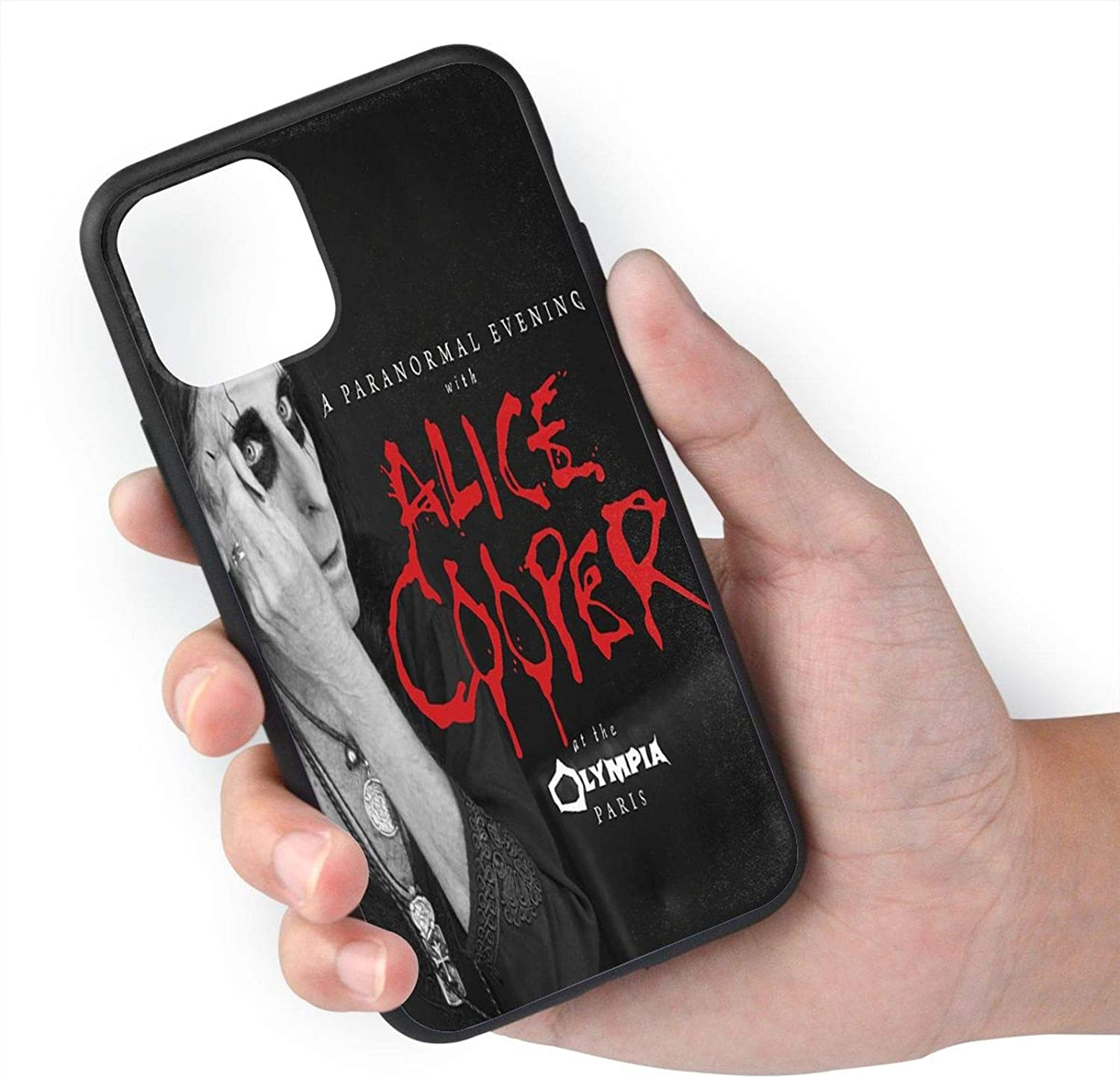 Cfgerends Alice Cooper A Paranormal Evening Fashion iPhone 11 case Man Women Personalized iPhone 11 Pro max Cases iPhone 11
