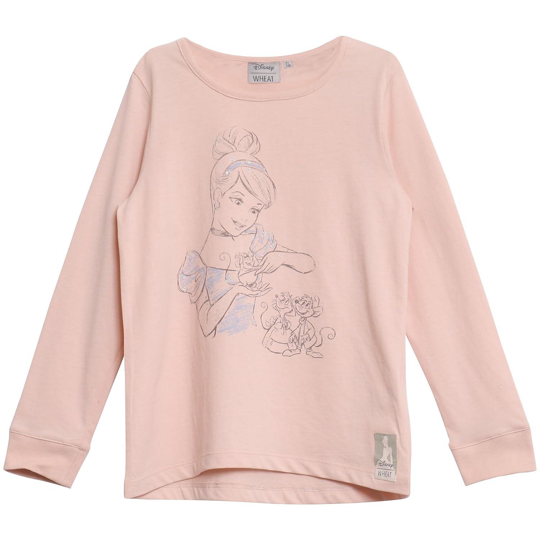Wheat Girl's Langarmshirt Cinderella Bum Disney Pyjama Bottoms 0174-15