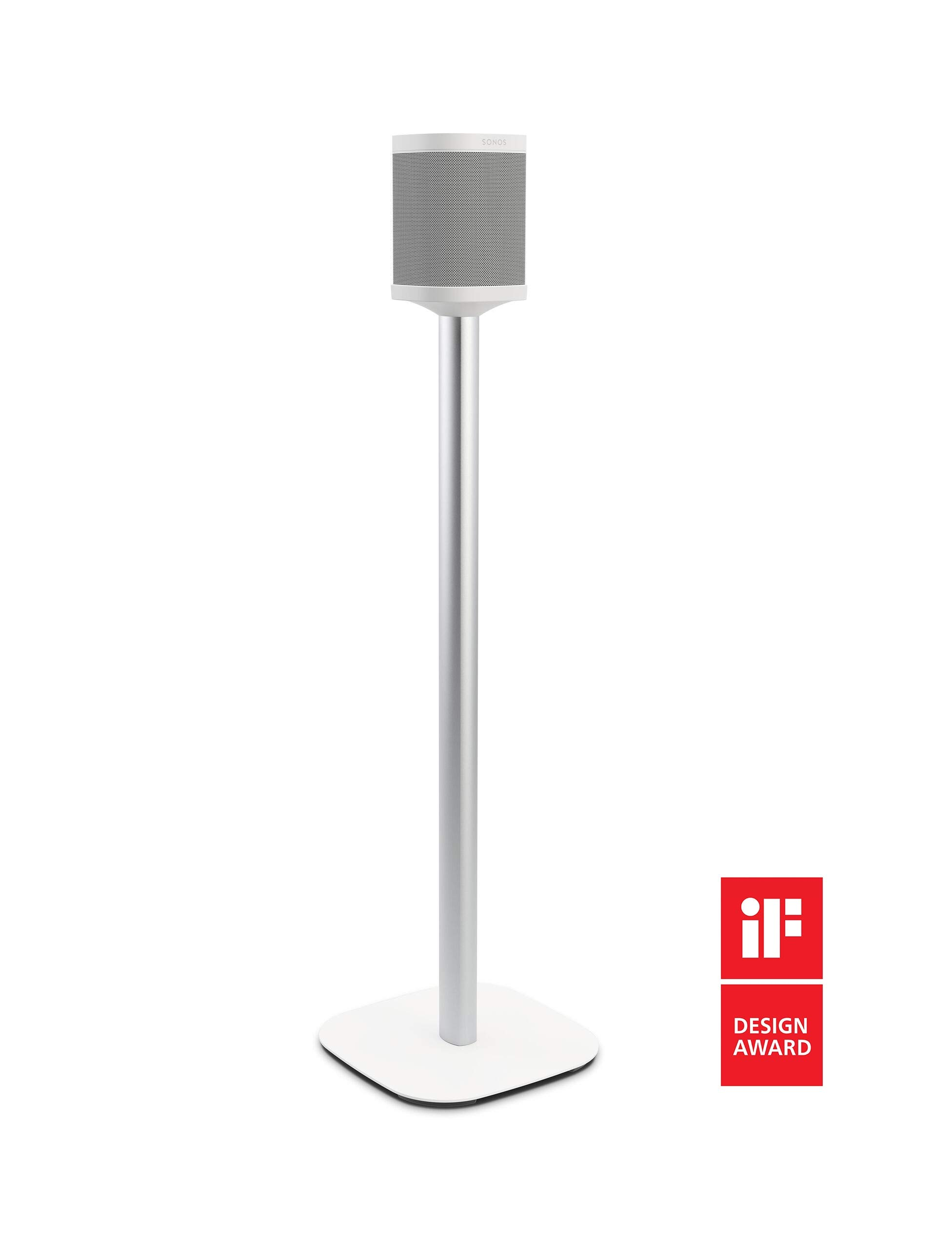 Vogel's Sound 4301 Speaker Stand for Sonos One & Play:1, White by Vogel's