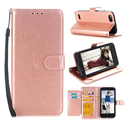 mchoice Card Wallet flip Leather case Cover for zte: Amazon