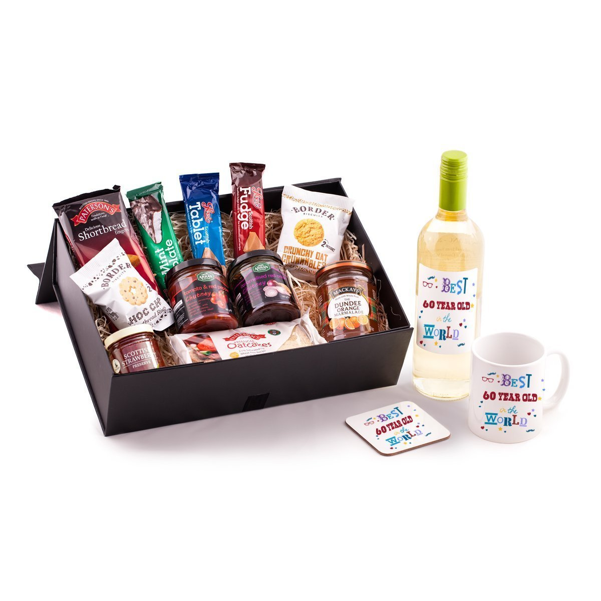 60 Year Old Birthday Hamper - Unique gift idea for any 60th ...