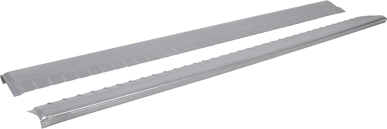 HECASA Steel Rocker Panel Lower Slip-On Fits 1999-2006 Chevy Silverado GMC Sierra Replacement For 0856-001 0856-002 4 Door Extended Cab