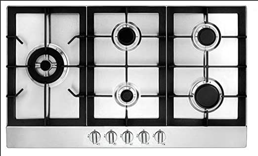 Nice Ancona 5 Burner 34u0026quot; Stainless Steel GAS Cooktop