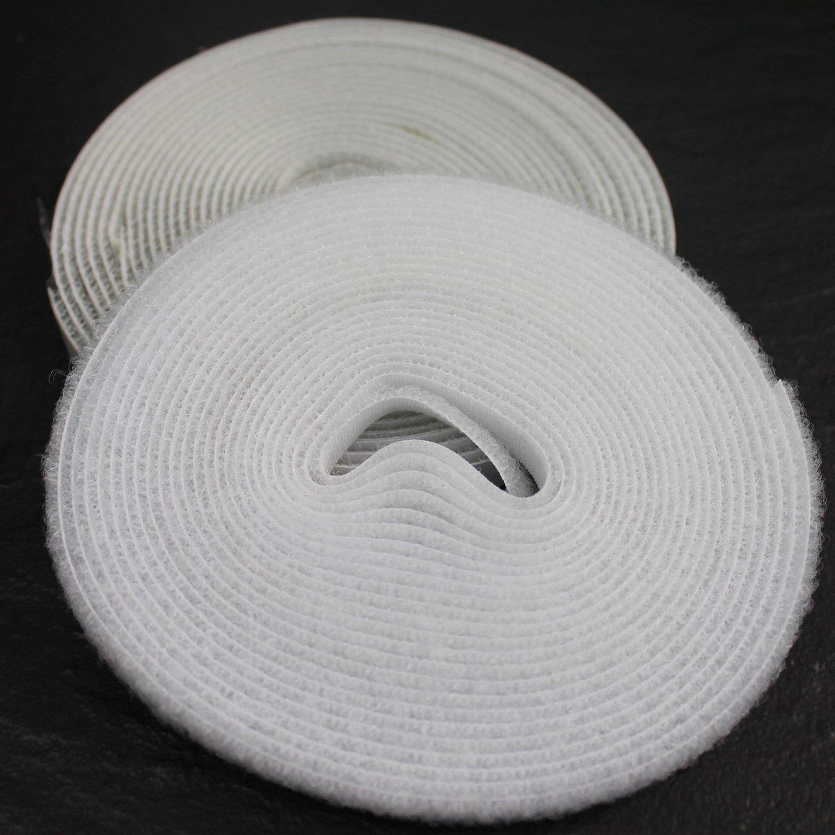 PROHEIM Klettband 5m f/ür Fliegengitter aus Fiberglas-Gewebe selbstklebendes Hakenband und Flauschband zur sicheren Befestigung von Insektenschutzgitter Befestigungsband Farbe:Anthrazit