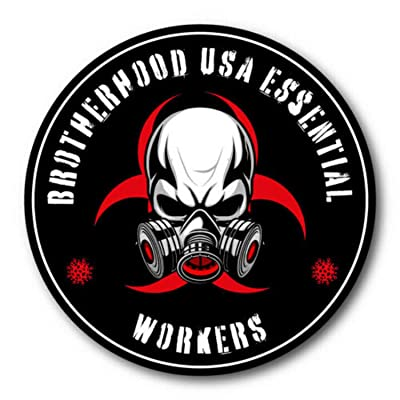 5 Pack Essential Worker Hard Hat Sticker Nuclear Toxic Vinyl Decal: Baby [5Bkhe2006951]