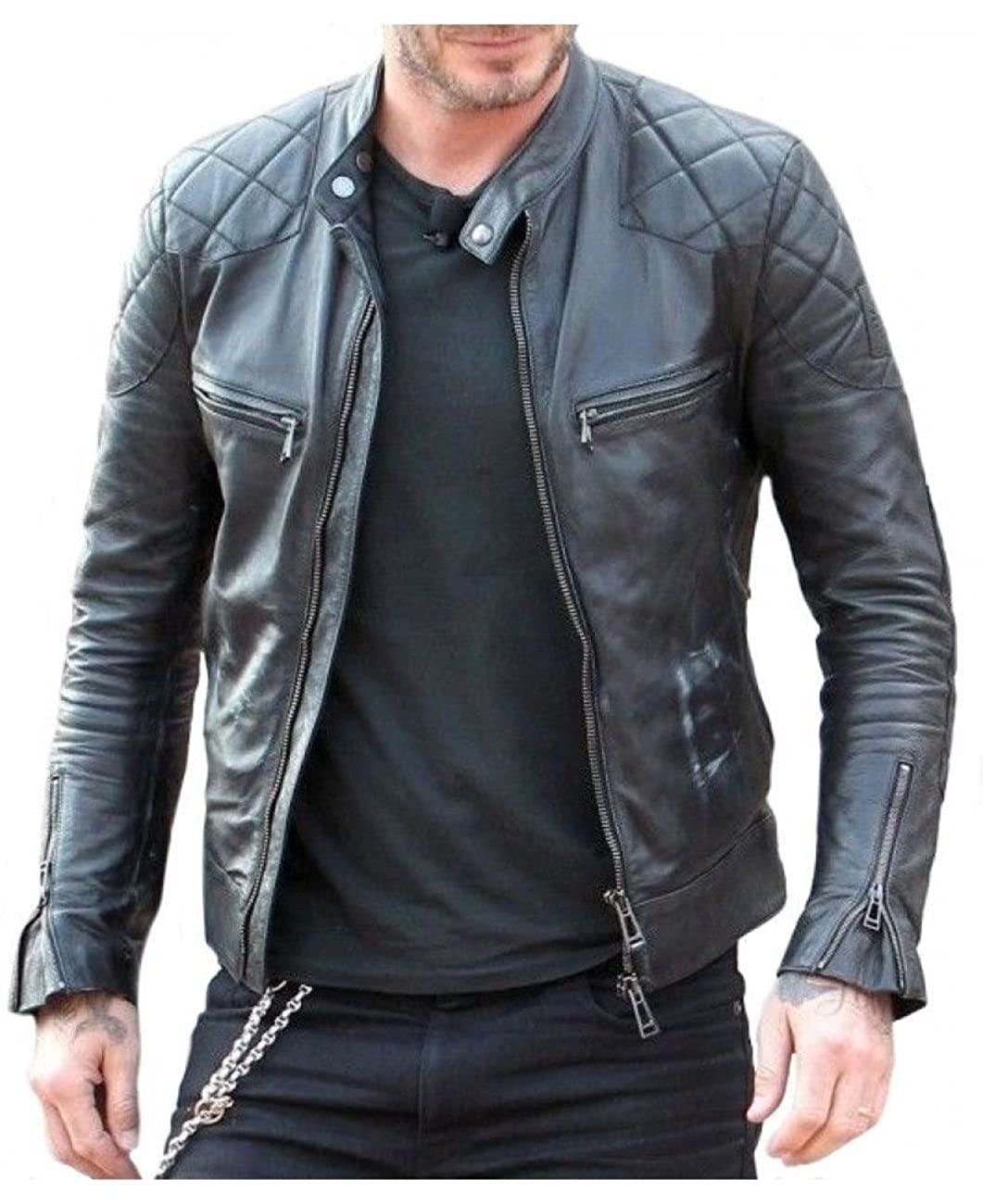 Mariyam Leather Men's Lambskin Leather Jacket ML_J_03