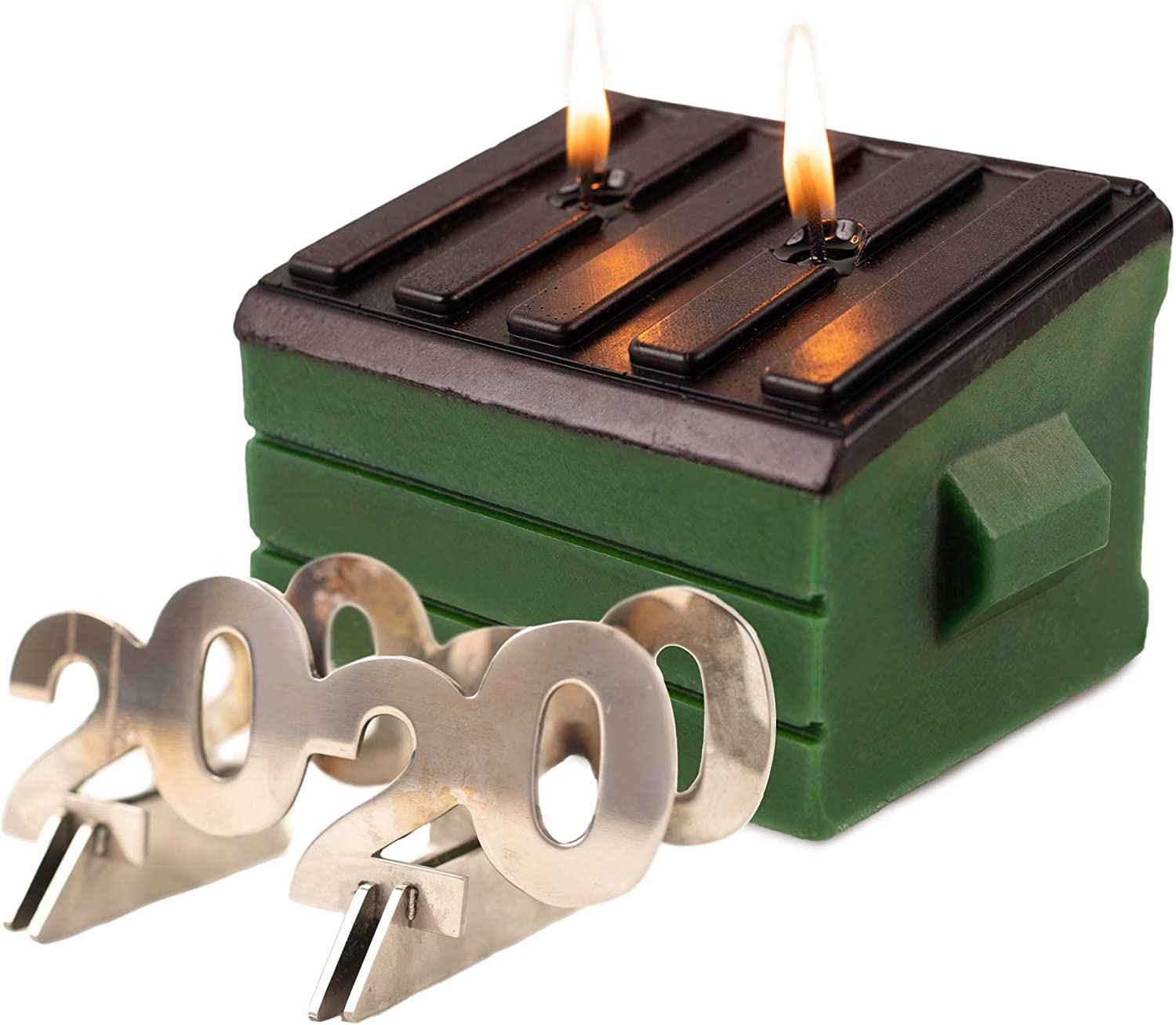 2020 Dumpster Fire Novelty Candle Unique Funny Gift Novelty Adults Can Enjoy! Paraffin Wax /& Stainless Steel 2020 Interior Steel Frame Wick Works Limited Edition