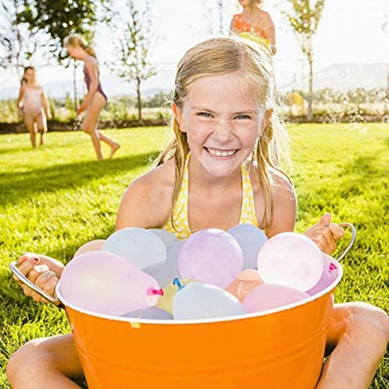 MR.Z Wasserballons f/ür Kinder M/ädchen Jungen Ballons Set Partyspiele Schnellf/üllung 666 Luftballons 18 B/ündel f/ür Schwimmbad Outdoor Sommerspa/ß