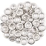 Fiskars Tag Maker 3/16in Silver Eyelets, 50 Pack
