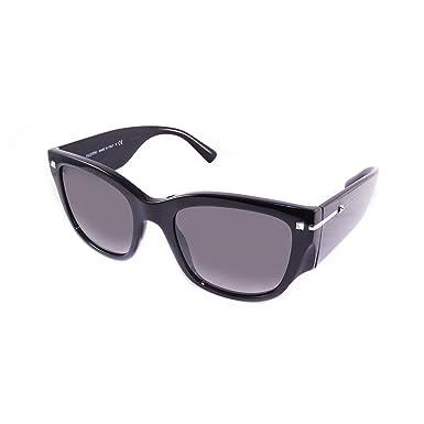 374fdcf2ce318 Amazon.com: Valentino VA4029 500111 Black VA4029 Square Sunglasses ...