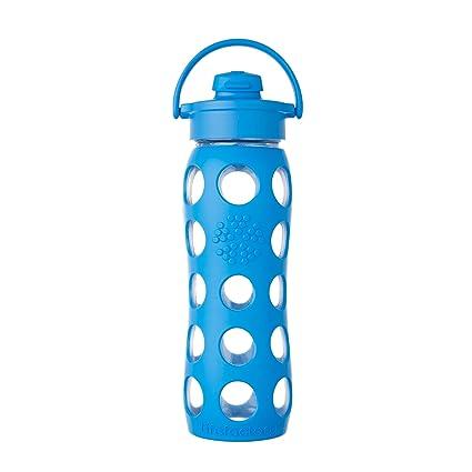 Lifefactory– Botella de Cristal con Tapa, Ocean, ...