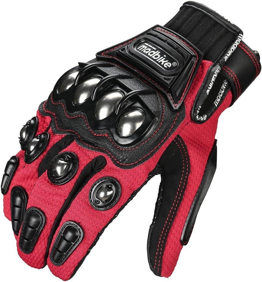 ILM Alloy Steel Motorbike Racing Gloves