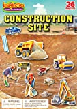 Imaginetics Construction Site Playset – Includes 26 Magnets