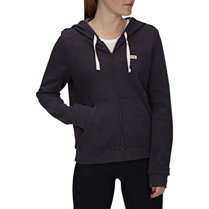 Hurley W On&Only Small Box Zip Sudaderas, Mujer, Oil Grey, ...
