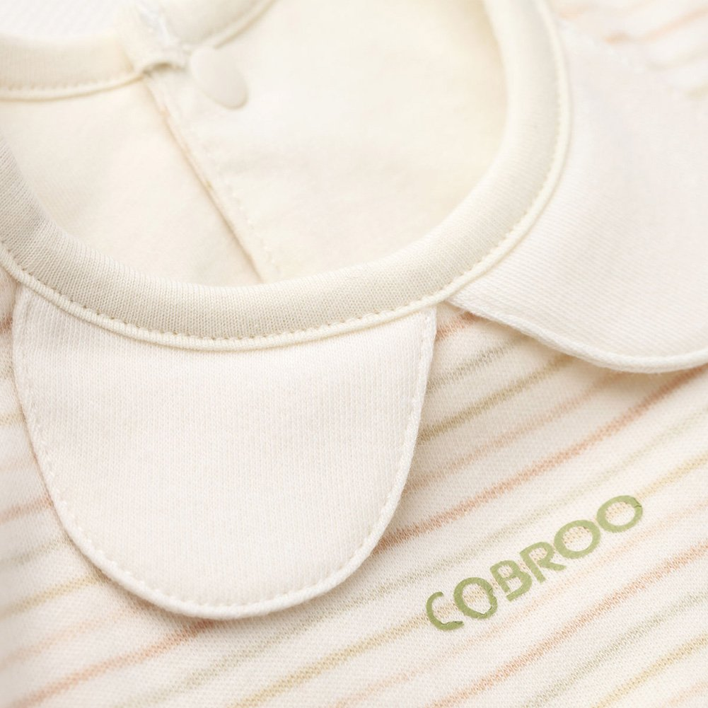 COBROO Newborn Baby Bodysuit 3 Pack