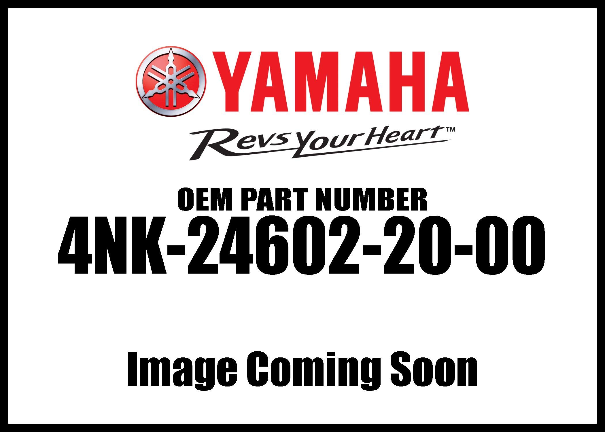 Yamaha 4NK-24602-20-00 Cap Assembly; 4NK246022000 Made by Yamaha