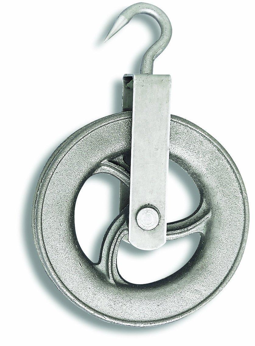 Chapuis 425//160 Poulie puits fonte galet D 160 mm pour Corde D 25 mm