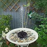 Flantor Solar Power Pump, Bird Bath Fountain Pump