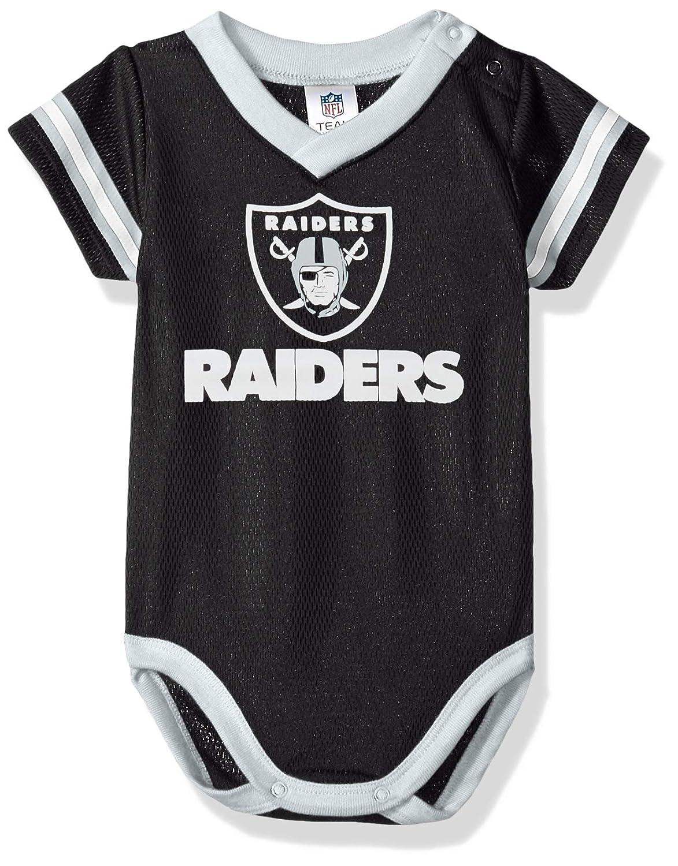 3a1b46245 Amazon.com  Gerber Oakland Raiders Baby Infant Dazzle Mesh Bodysuit ...