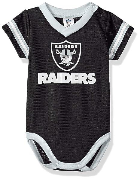 Amazon.com   NFL Oakland Raiders Unisex-Baby Dazzle Bodysuit 669329278
