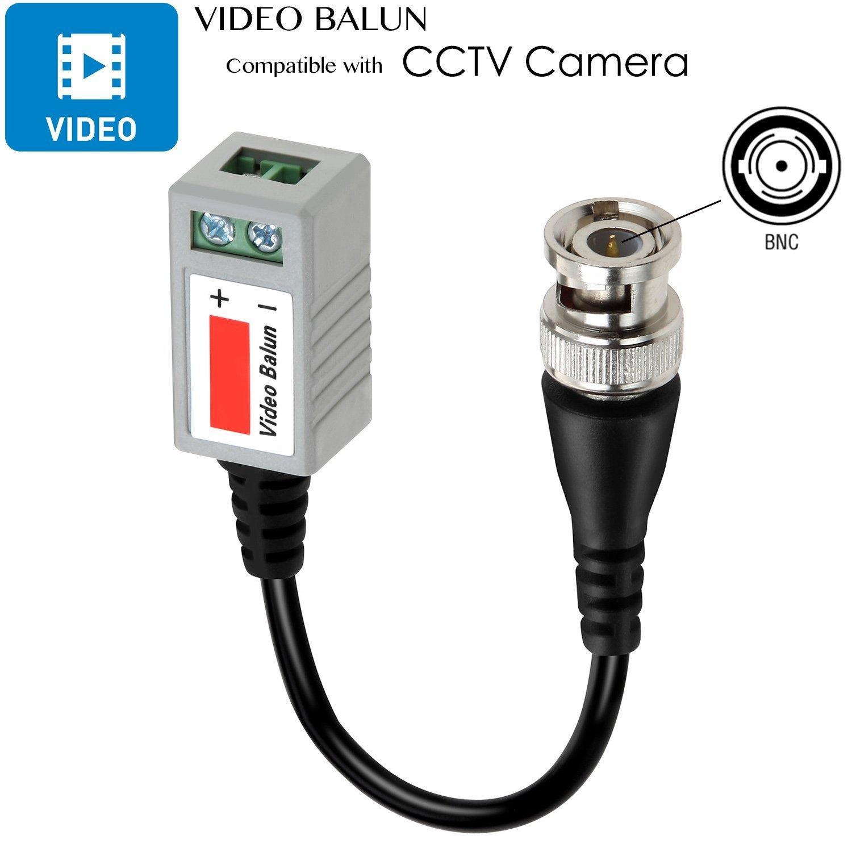 Amazon com : Video Balun Transceiver, Aukeer 2 Pack Video