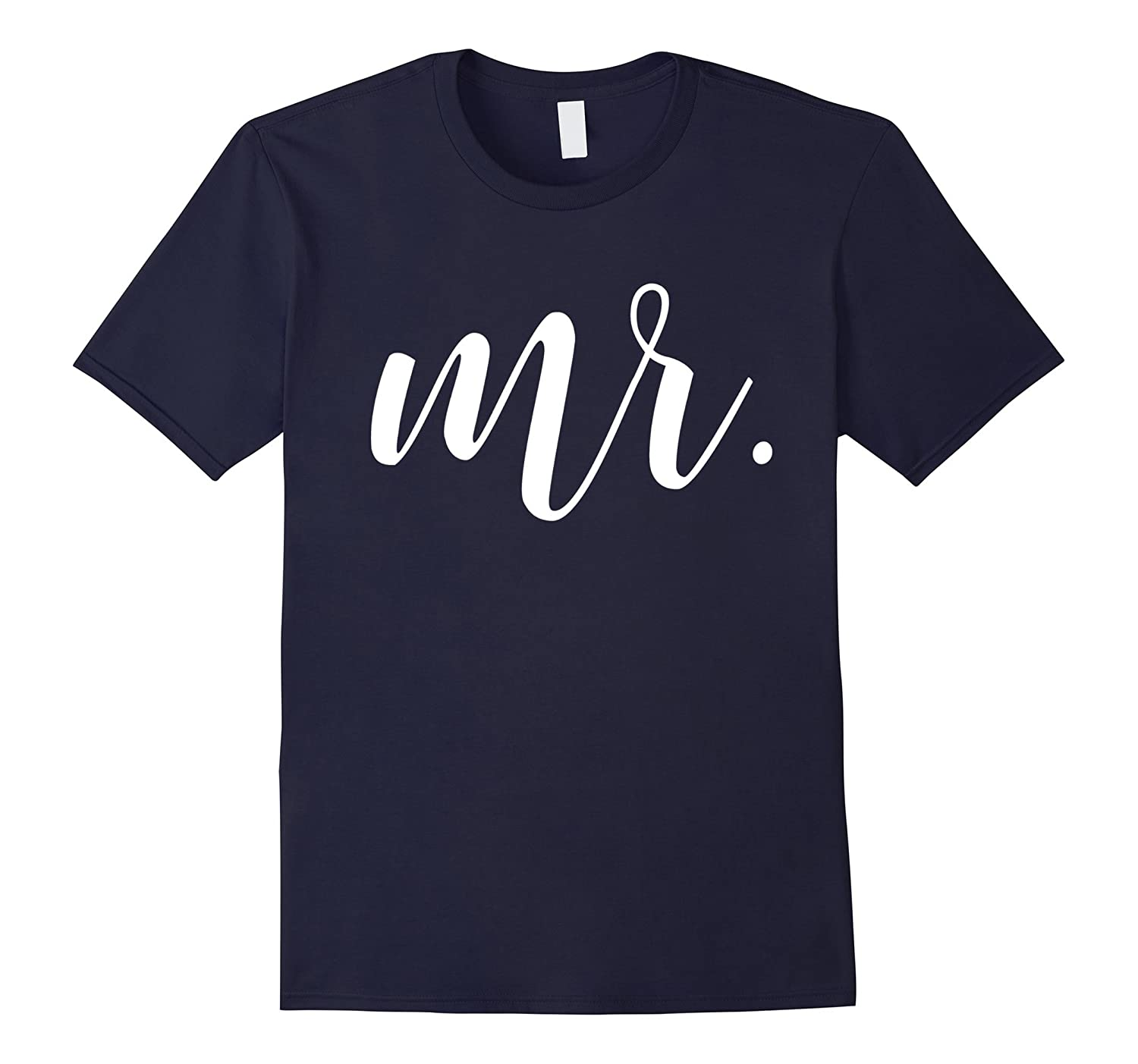 Mens Mr Tshirt Tee Shirt Mrs Tshirt Set Just Married-RT