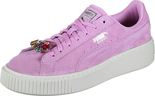 Puma Suede Platform Jewel Jr Scarpa: Amazon.it: Scarpe e borse