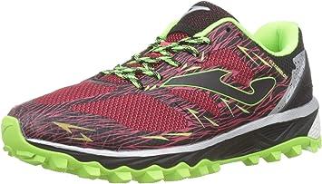 Joma Olimpo, Zapatillas de Trail Running para Hombre, Rojo (Rojo ...
