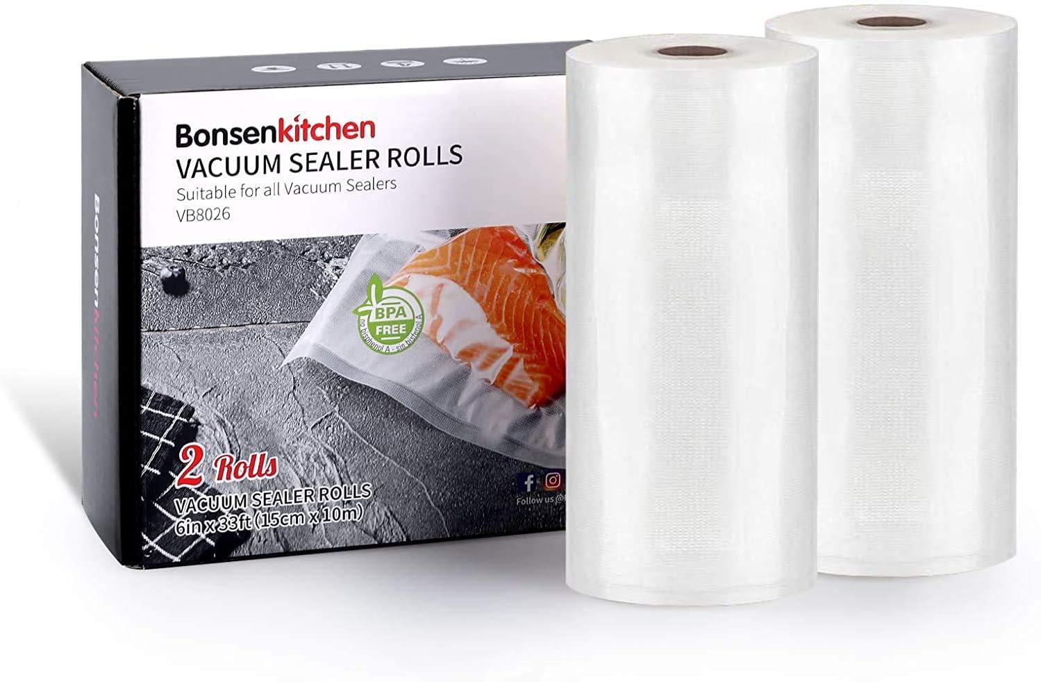 Vacuum Sealer Bags, 2 Roll 6