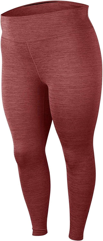 aluminio Decir Coro  Amazon.com: Nike One Plus Size Training Leggings EL Dorado 3X: Clothing