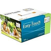 """EasyTouch® U-100-29G, Insulin Syringes, 1cc/mL, 1/2"""" (Box of 100)"""