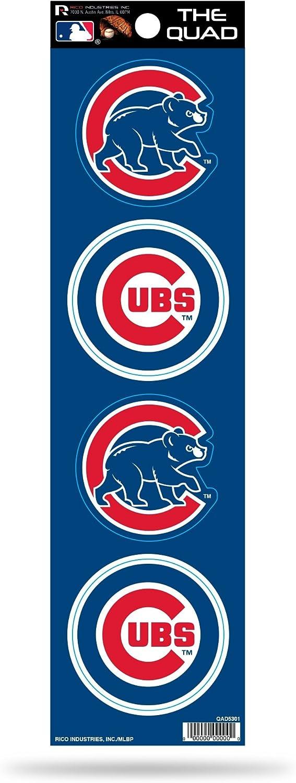 MLB Chicago Cubs Quad Decal