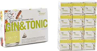 Te Tonic Experience amante de GIN Pack 24 infusiones - aroma ...