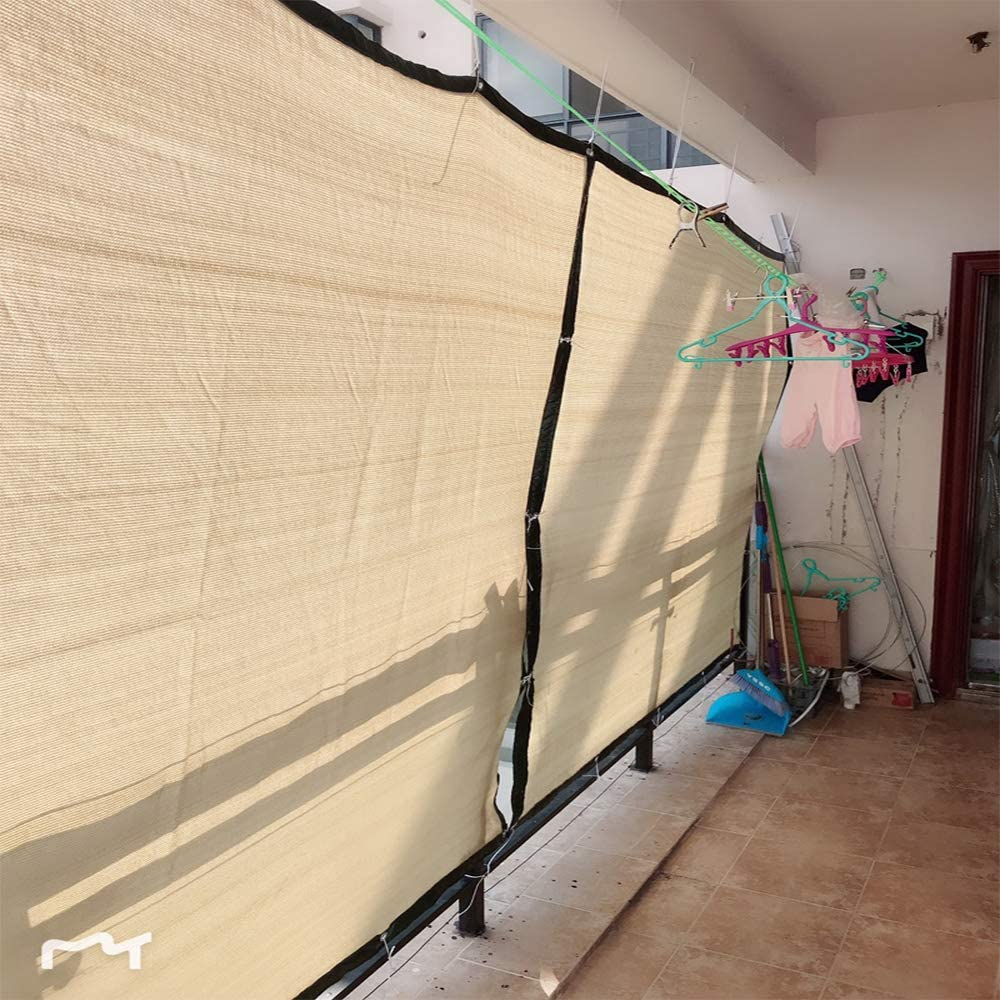 LKLXJ Vela De Sombra/Beige Canopy Rectangle 4x6m , 85% para El ...