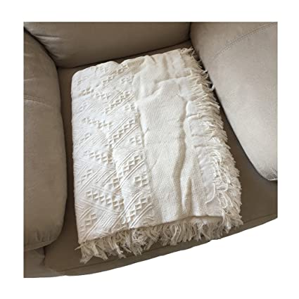 shane&shaina Cotton Manta Colcha Suave Comodo Sofa Cama ...