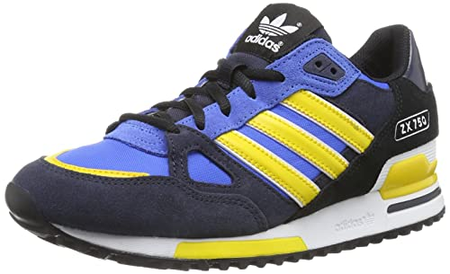 promo code 2113c 43db0 Adidas - ZX 750 - Color  Black-Blue-Yellow - Size  12.5