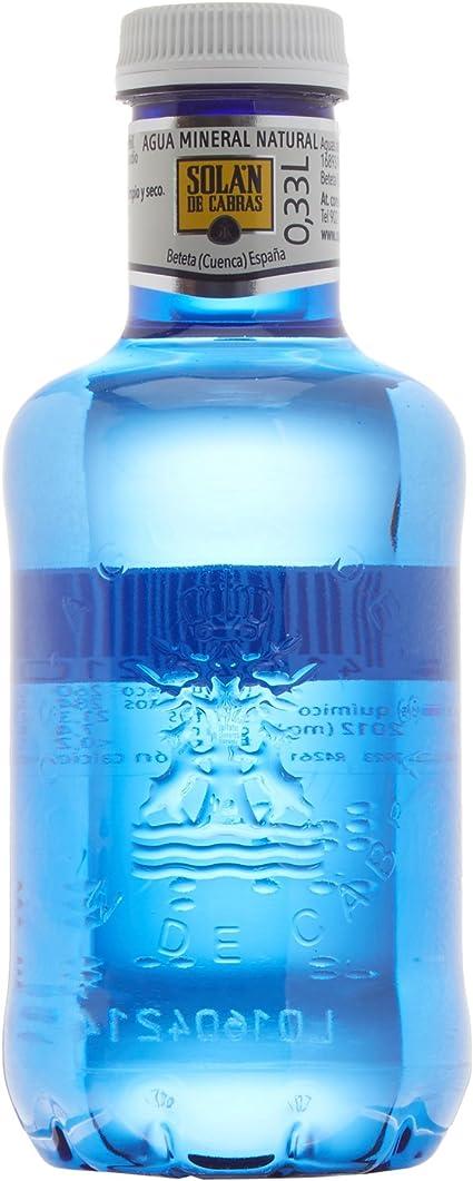 Solán De Cabras - Agua mineral natural - 0.33 l (Pack de 36 ...