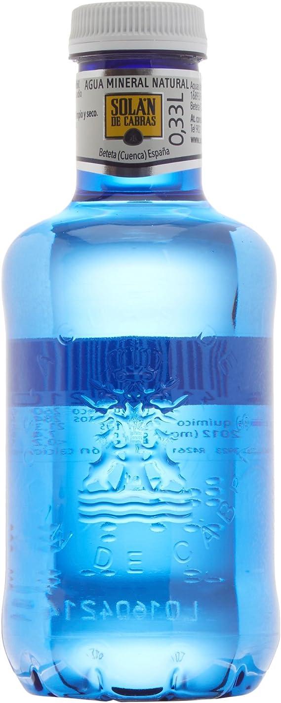 Solán De Cabras - Agua mineral natural - 0.33 l (Pack de 36): Amazon.es: Alimentación y bebidas