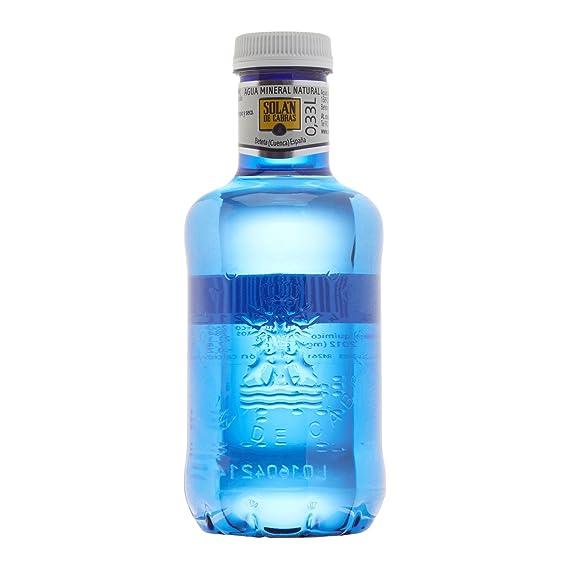 Solán De Cabras - Agua mineral natural - 0.33 l (Pack de 36)