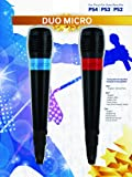 BigBen - Pack De 2 Micrófonos Singstar Con Cable USB (PS4, PS3)
