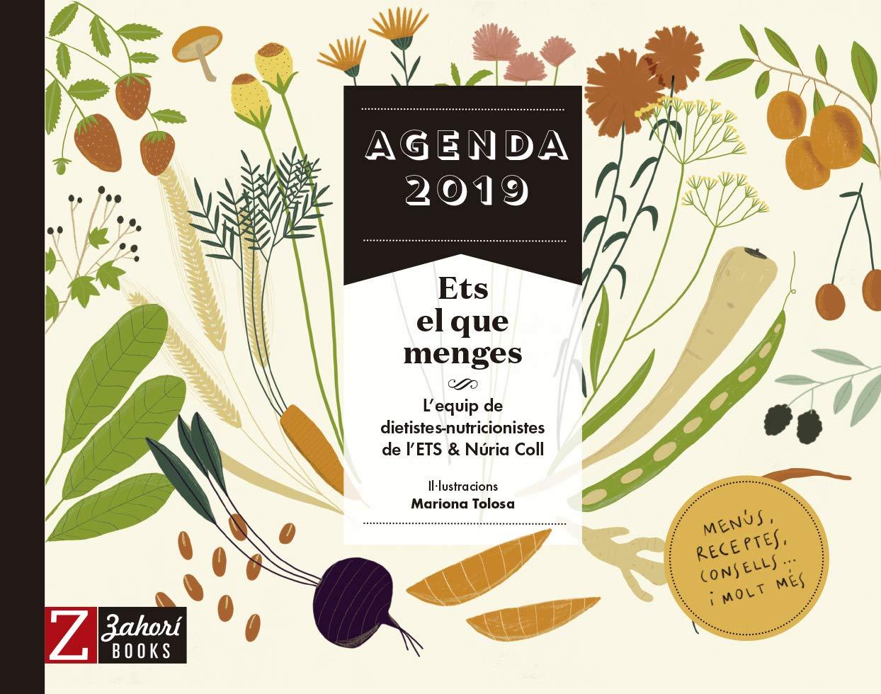 Agenda 2019 Ets el que menges: Amazon.es: Núria Coll, Zahorí ...