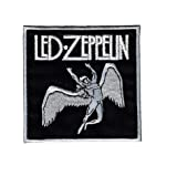 ZOSO Led Zeppelin Red Embroidered Iron On Sew On Shirt Badge Patch 4.4/""