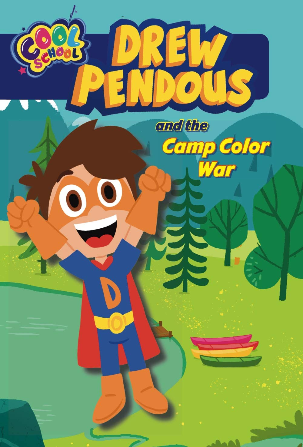 The Best Chapter Books for 1st Graders featured by top Seattle lifestyle blogger, Marcie in Mommyland: Drew Pendous