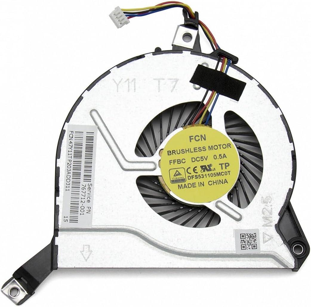 HP 767712-001 Ventilador Original (CPU): Amazon.es: Electrónica