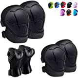 Knee Pads for Kids Kneepads and Elbow Pads Toddler Protective Gear Set Kids Elbow Pads and Knee Pads for Girls Boys with…