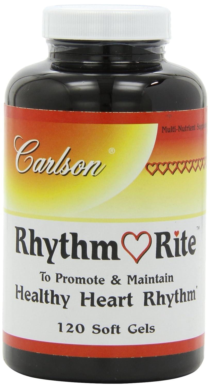Carlson Labs Rhythm Right, Healthy Heart Rhythm, 120 Softgels